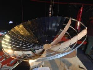Fabrication d'une parabole solaire